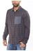 Arc'teryx Bernal overhemd en blouse lange mouwen rood/blauw